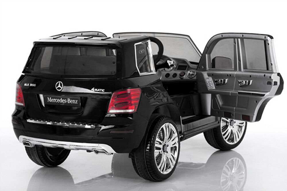 lizenz elektroauto kinderauto mercedes benz glk300 2x35w. Black Bedroom Furniture Sets. Home Design Ideas