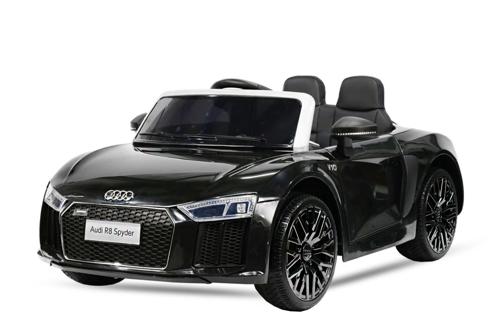 kinder elektro auto audi r8 2x 35w 2x 6v elektroauto. Black Bedroom Furniture Sets. Home Design Ideas